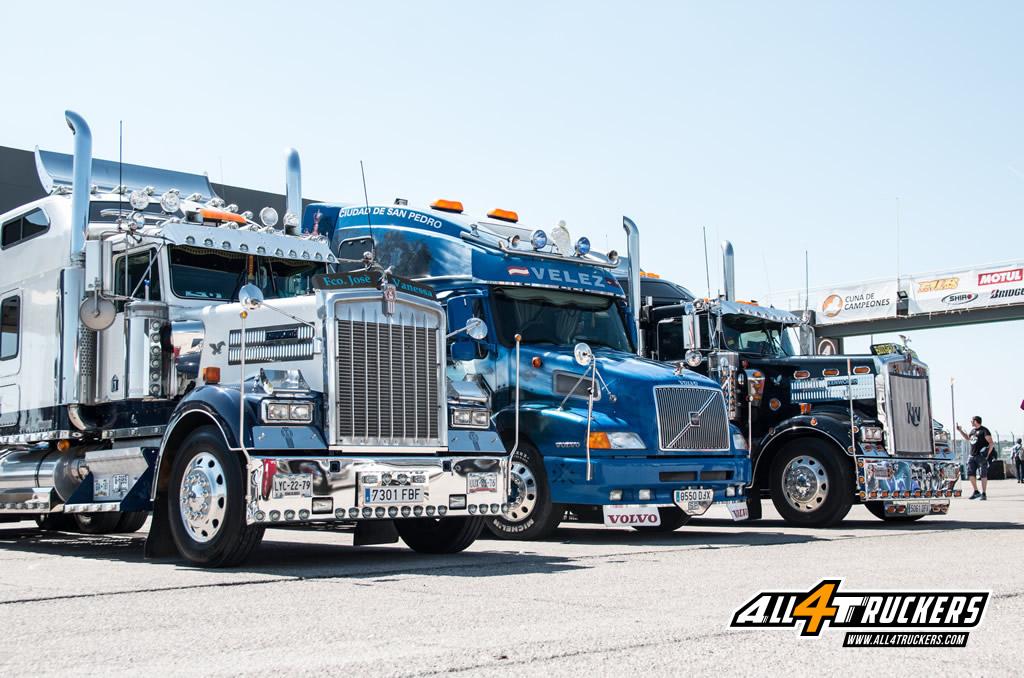 Camiones americanos All4truckers valencia nascar